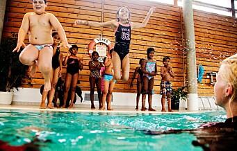 To av fem badegjester forsvant fra Oslos svømmehaller i januar