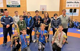 Unge brytertaleneter fra Dælenenega sørget for medaljerush i landsmesterskapet
