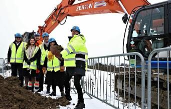 Første spadetak er tatt for Oslo storbylegevakt