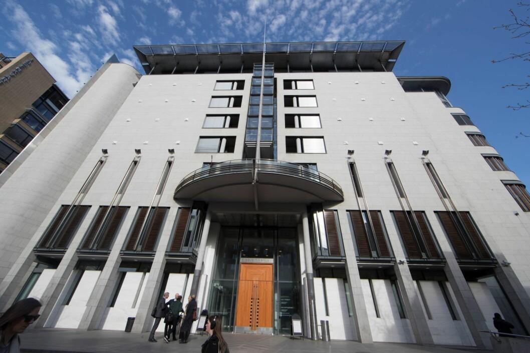 Rettssaken kommer opp for Oslo tingrett 2. april. Foto: Terje Pedersen / NTB scanpix