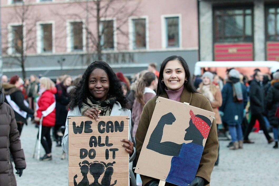 8. marskomiteen forventer at tusenvis vil dukke opp på Youngstorget på søndag. Foto: André Kjernsli