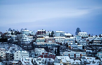 Leieboere i Oslo må ut med nesten 10.000 for en ettroms