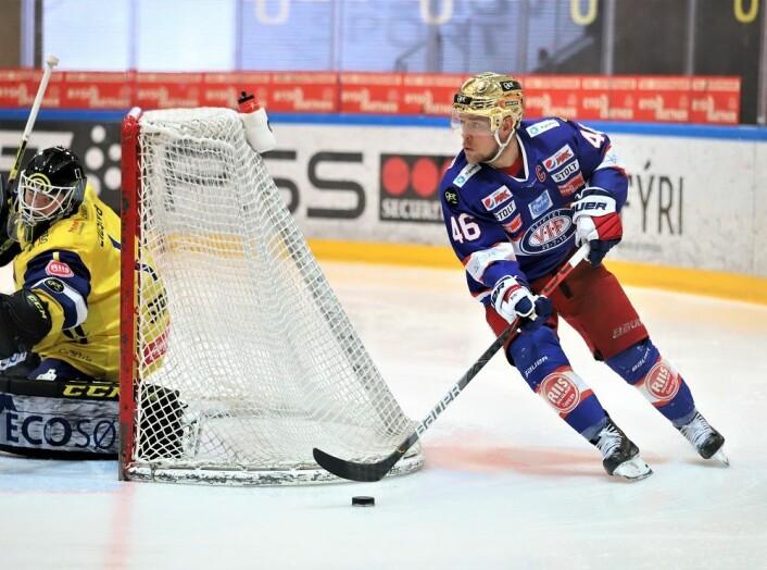 Tobias Lindström spilte nok en god kamp. Foto: André Kjernsli