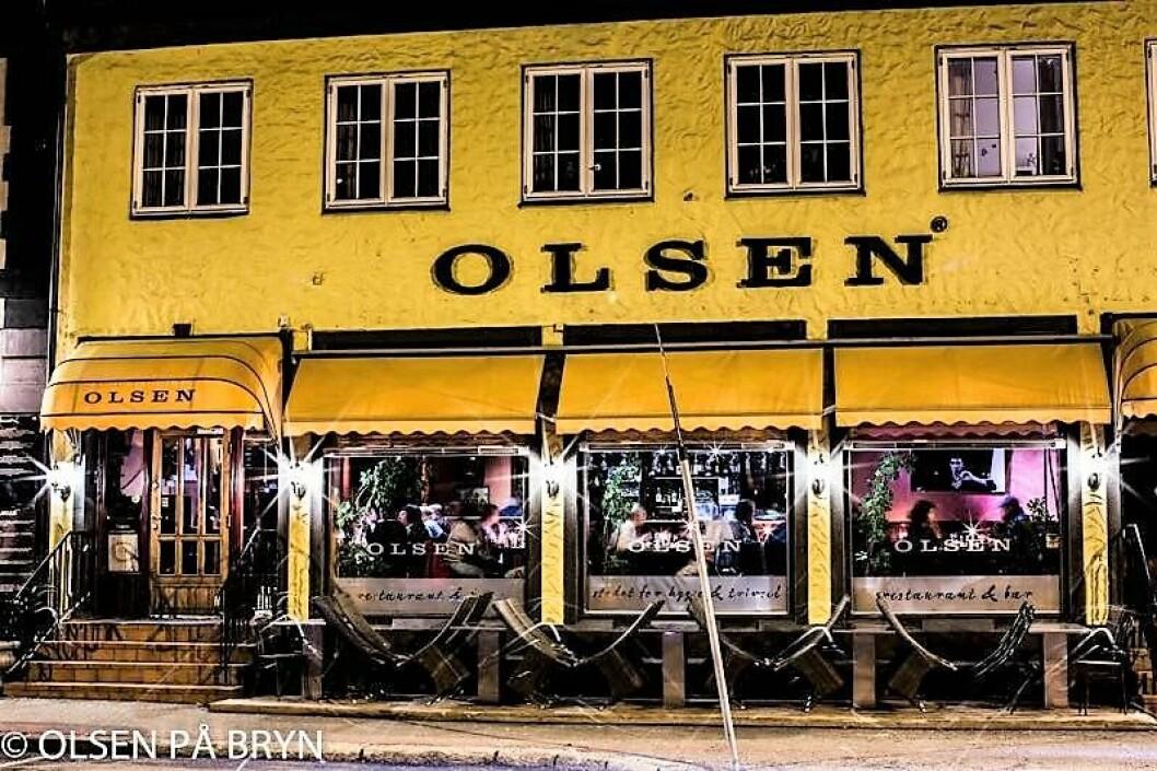 Olsen på Bryn er et av få samlingspunkter i området rundt Bryn. Foto: Tom Olsen