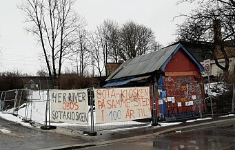 – Vi er Vål'enga, Oslo by, St. Hallvards menn og kvinner! Vi kjemper for Sotakiosken og Vålerenga