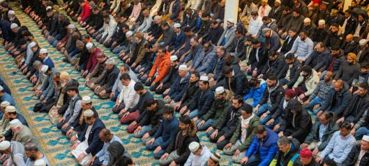 Kun den somaliske moskeen er større enn Central Jamaat e-ahl-e Sunnat. I hele skandinavia