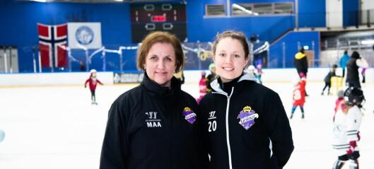 Jentehockeyen blomster på Grünerløkka. – På tide at jentene tas like mye på alvor som gutta
