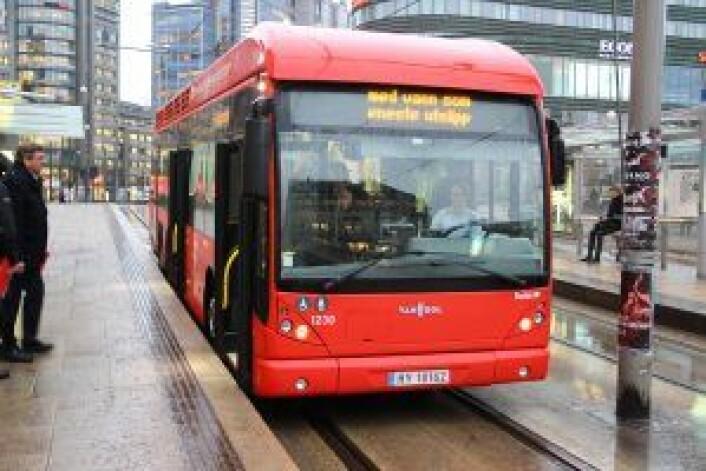 I 2020 skal den store utrullingen av elbusser starte i Oslo sentrum. Foto Susanne Skaug og Nafisa Zaheer