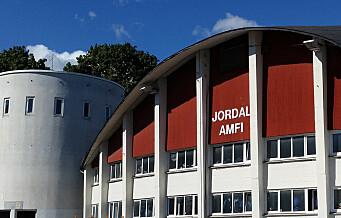 Jordal hockeyarena i Oslo ble bygget til OL i '52 og nå skal den rives