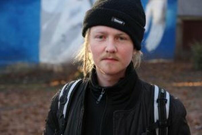 —Filmene er om meg og mitt fiske, meg, hip-hop og humor. Foto: Susanne Skaug