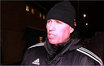 Se trener Tom Nordlie fortelle om sine planer for Skeid