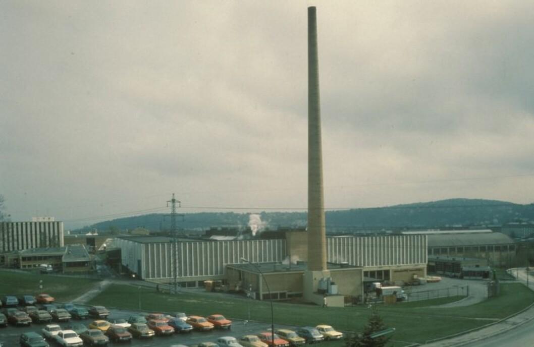 Slik så den gamle tobakkpipa ut i sine gamle velmaktsdager. Foto: Industrimuseum