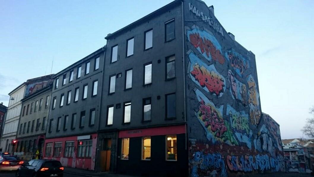 Aktivistene fra Vestbreddden VelVel har fått tilbud om å kjøpe eiendommen fra Urbanium. Foto: Christian Boger