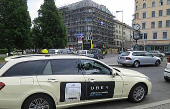 — Piratfirmaet Uber må ut av byen