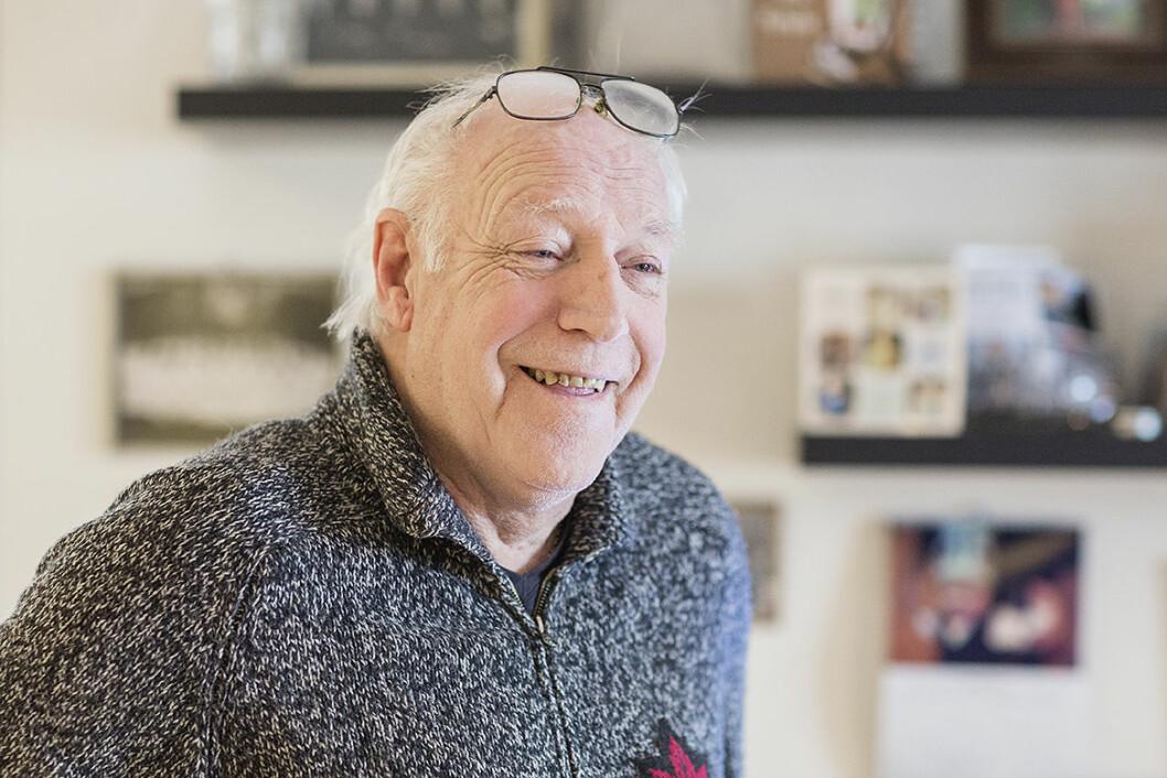 På topp i tre idretter på 60- og 70-tallet, Frank Olafsen. Foto: Stine Raastad