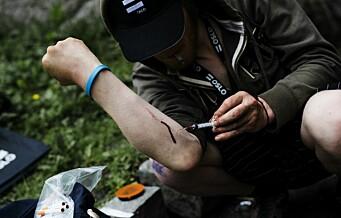 Oslo Høyre vil tillate røyking av heroin på sprøyterommet for å hindre overdoser
