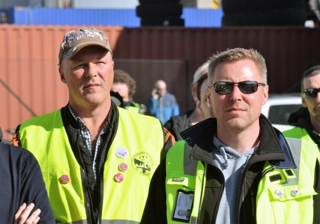 Havnearbeidernes fører en tapt kamp, mener James Stove Lorentzen (H). Foto: Brage Aronsen / Flickr