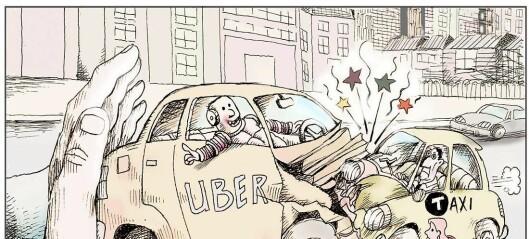 Tut og kjør, Uber?