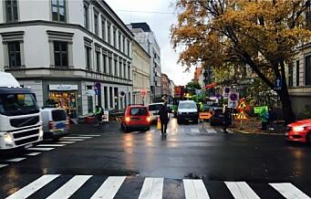 – Snart stenges Løkkeveien for biltrafikk. Det betyr kaos