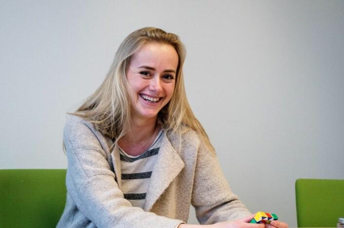 Den ungdommelige helsesøsteren Tale Maria Krohn Engvik har lykkes i å få ungdommer til å åpne seg om psykiske problemer og potensproblemer.