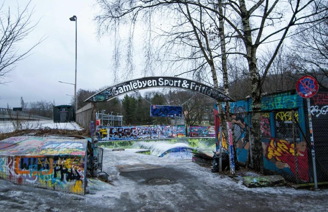 Gamlebyen skatepark. Foto: Anna Carlsson
