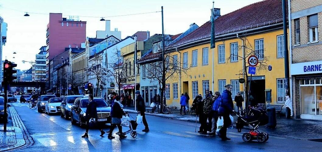 Grønland, en vinterdag. Foto: Merethe Ruud