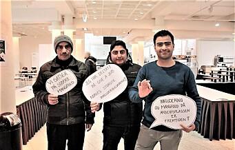 Tidligere flyktning arrangerer «speed dating» for å skaffe andre flyktninger jobb