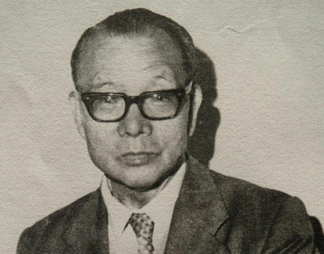 Chen Te Hu, Norges 'første kineser'. Bildet er tatt en gang på 1980-tallet. Foto: Chen Li Chun/Yenyin Kwan