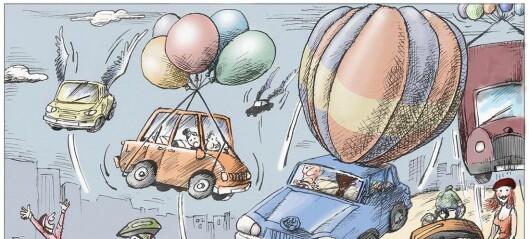 Vekk med bilene!