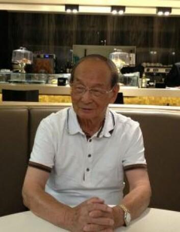 Chen Fuk Sing i Spania i 2015 eller 2016. på 1960-tallet måtte han flykte fra Maos Kina. Foto: privat