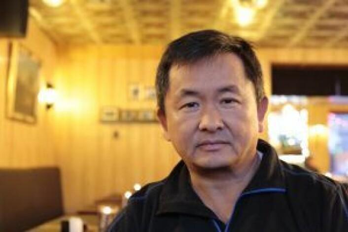 Chen Li Chun inne på Yummy House, som holder til i lokalet hvor Li Chun drev restauraten Mandarin House fra 1994 til 2015. Foto: Ka Man Mak