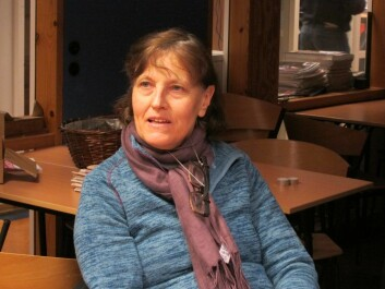 Ellisiv Rognlien er med og tolker på polsk. Foto: Susanne Skaug