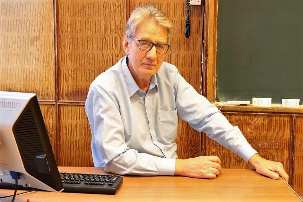Lærer Clemens Saers følte seg etter hvert mer som en sosialarbeider enn lærer og skiftet skole. Foto: Susanne Skaug