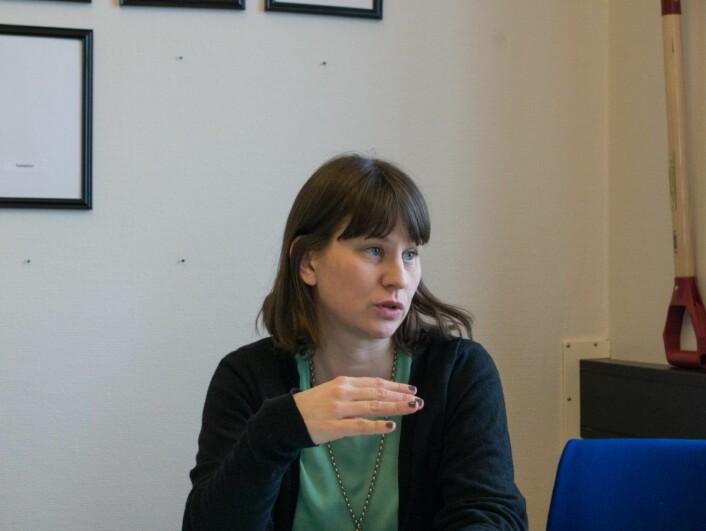 Kulturbyråd Rina Mariann Hansen lover at hun tar mangelen på atelierer for Oslos kunstnere på alvor. Foto: Kyrre Songstad Seim