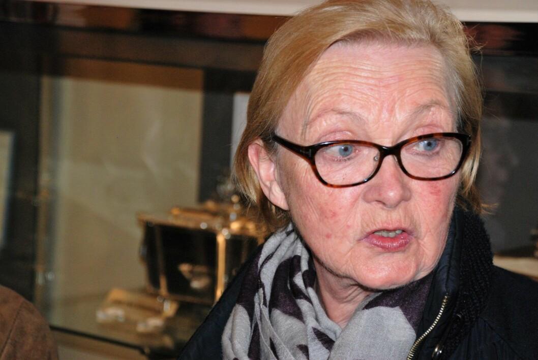 � Lokaldemokratiet er en vits, mener Marit Hvalvik i Skovveien velforening. Foto: Arnsten Linstad