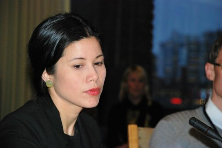 Miljø- og samferdselsbyråd Lan Marie Nguyen Berg (MDG): — Vi vurderer fortløpende om kontrakten med Veireno skal sies opp, og vi gir dagbøter for manglende renovasjon.