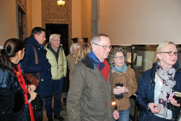 Skuffede Frogner-beboere forlot møtet i bystyrets samferdsel- og miljøkomite onsdag kveld. Foto: Arnsten Linstad