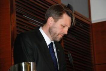 Komiteleder Eirik Lae Solberg (H) støttet Frogner-beboerne. Foto: Arnsten Linstad