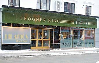 Frogner bydelsutvalg vil kjøpe Frogner kino og lage kulturhus