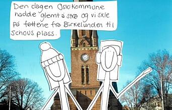 Den dagen Oslo kommune hadde glemt å strø...