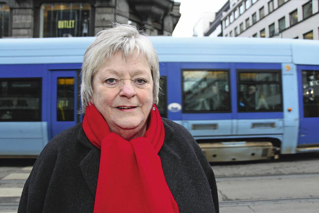 Mari Sanden går av som leder i Fagforbundet Oslo den 1. april. Foto: Jan Tore Skjelbek / Fagforbundet