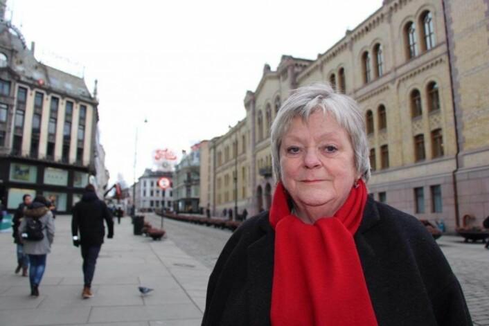 Leder av Fagforbundet i Oslo, Mari Sanden, har vært en sterk og synlig fagforeningsleder. Foto: Jan Tore Skjelbek / Fagforbundet