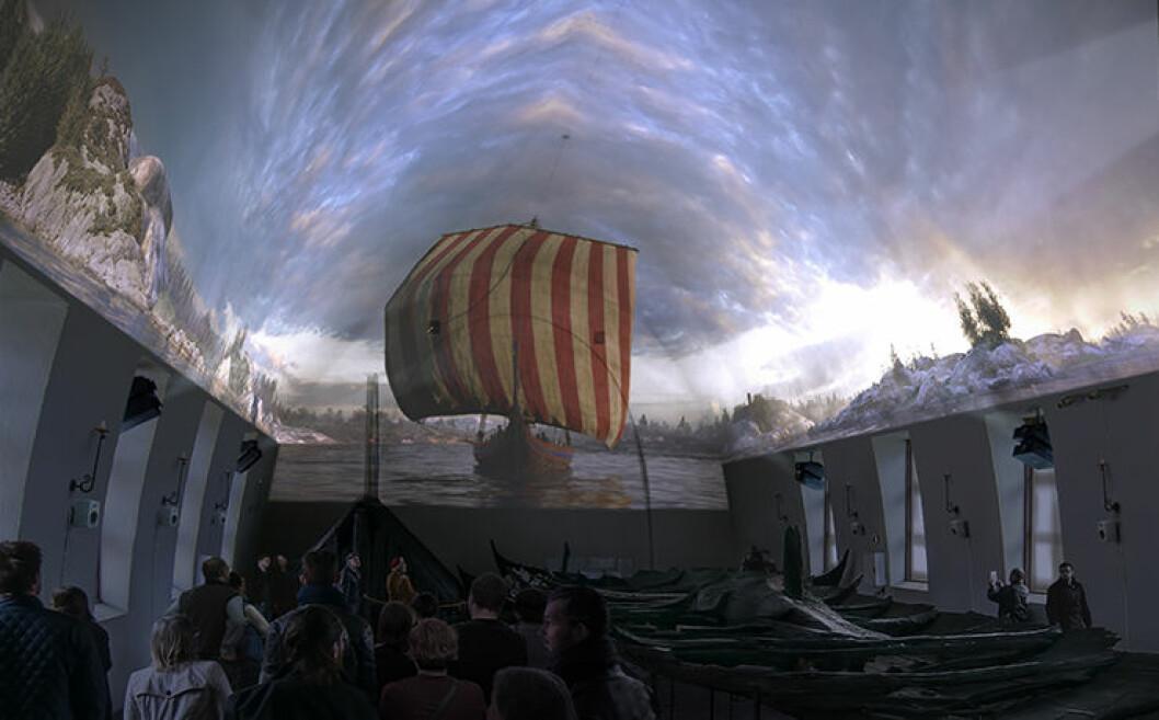 Slik har du neppe 'opplevd' vikingtiden før. Konseptbilde: Storm Studios