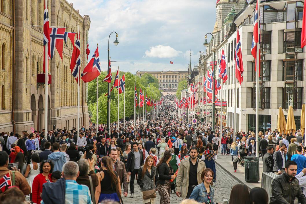 17. mai-komiteen i Oslo ble offentliggjort denne uka. Foto: Sparebank 1 / Flickr