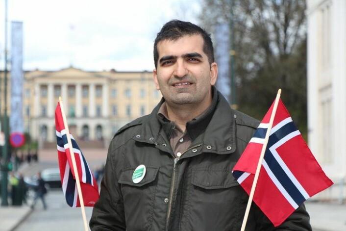 Shoaib Sultan (MDG) satt i 17. mai-komiteen fra 2012-15 og ledet den i 2013. Foto: Wikimedia