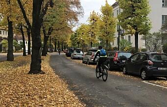 De planlagte sykkelveiene på Frogner er lovlige, slår kommuneadvokaten fast i en uttalelse til bymiljøetaten