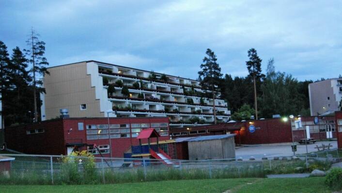 I blokkene på Vestli har hyblifiseringen pågått i flere år. Foto: Wikimedia commons
