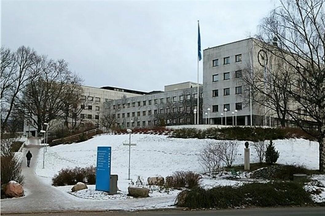 Artikkelforfatteren ønsker NRK hjertelig velkommen til Ensjø. Foto: NRK