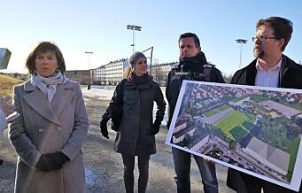 Ny ungdomsskole på Voldsløkka: — Største satsningen i nyere tid