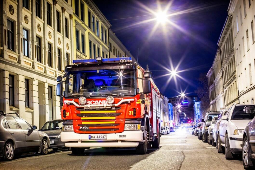 Brannmannskapene i Oslo har hatt en svært travel uke. Foto: Oslo brann- og redningsteat